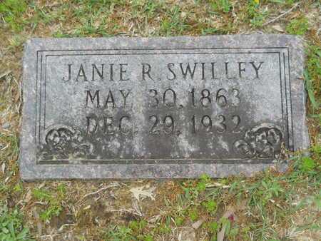 SWILLEY, JANIE R - Union County, Arkansas | JANIE R SWILLEY - Arkansas Gravestone Photos