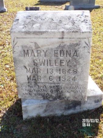 SWILLEY, MARY EDNA - Union County, Arkansas | MARY EDNA SWILLEY - Arkansas Gravestone Photos