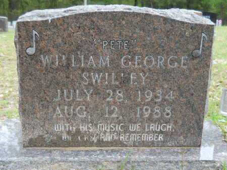 """SWILLEY, WILLIAM GEORGE """"PETE"""" - Union County, Arkansas 