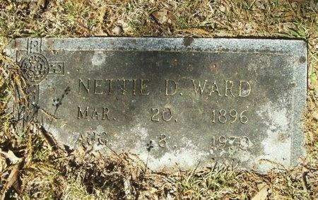 WARD, NETTIE - Union County, Arkansas | NETTIE WARD - Arkansas Gravestone Photos