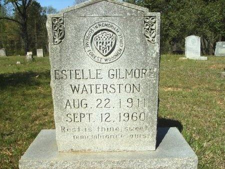 GILMORE WATERSTON, ESTELLE - Union County, Arkansas   ESTELLE GILMORE WATERSTON - Arkansas Gravestone Photos