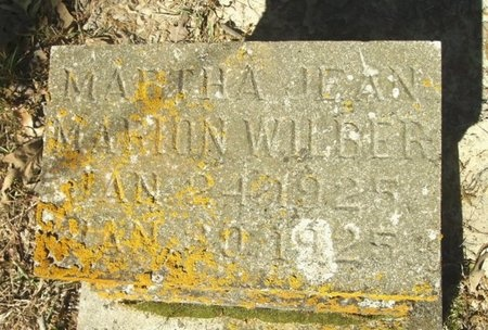 WILBUR, MARTHA JEAN MARION - Union County, Arkansas | MARTHA JEAN MARION WILBUR - Arkansas Gravestone Photos