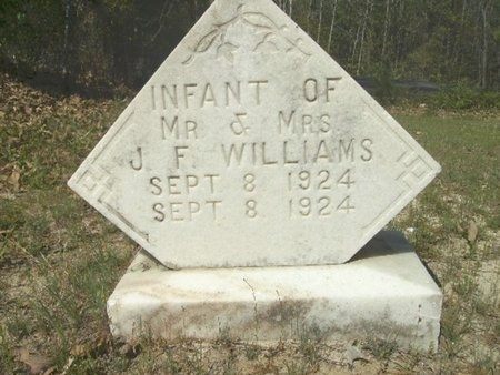 WILLIAMS, INFANT - Union County, Arkansas | INFANT WILLIAMS - Arkansas Gravestone Photos