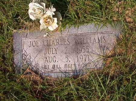 WILLIAMS, JOE CHARLES - Union County, Arkansas | JOE CHARLES WILLIAMS - Arkansas Gravestone Photos