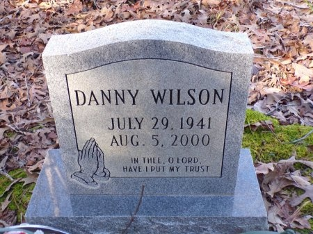 WILSON, DANNY - Union County, Arkansas | DANNY WILSON - Arkansas Gravestone Photos