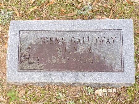 WILSON, EUGENE GALLOWAY - Union County, Arkansas   EUGENE GALLOWAY WILSON - Arkansas Gravestone Photos