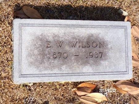 WILSON, E W - Union County, Arkansas | E W WILSON - Arkansas Gravestone Photos