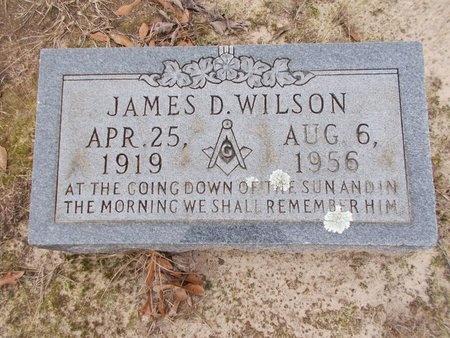 WILSON, JAMES D - Union County, Arkansas | JAMES D WILSON - Arkansas Gravestone Photos