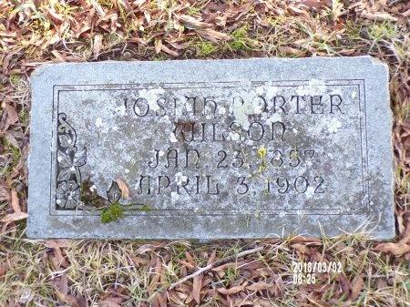 WILSON, JOSIAH PORTER - Union County, Arkansas | JOSIAH PORTER WILSON - Arkansas Gravestone Photos