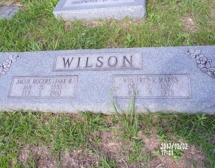 "WILSON, JACOB ROGERS ""JAKE"" - Union County, Arkansas | JACOB ROGERS ""JAKE"" WILSON - Arkansas Gravestone Photos"