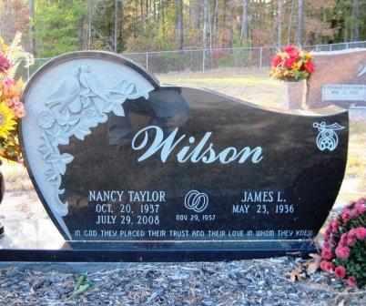 WILSON, NANCY - Union County, Arkansas   NANCY WILSON - Arkansas Gravestone Photos