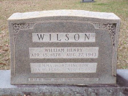 WILSON, WILLIAM HENRY - Union County, Arkansas   WILLIAM HENRY WILSON - Arkansas Gravestone Photos