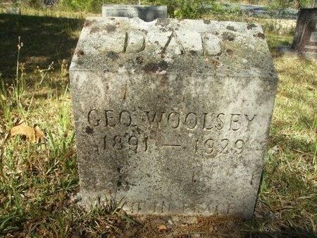 WOOLSEY, GEORGE - Union County, Arkansas   GEORGE WOOLSEY - Arkansas Gravestone Photos