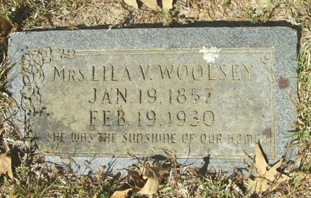 CAMPER WOOLSEY, LILA VICTORINE - Union County, Arkansas | LILA VICTORINE CAMPER WOOLSEY - Arkansas Gravestone Photos