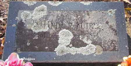 AUTRY, AMANDA R - Van Buren County, Arkansas | AMANDA R AUTRY - Arkansas Gravestone Photos