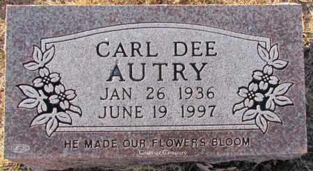 AUTRY, CARL DEE - Van Buren County, Arkansas | CARL DEE AUTRY - Arkansas Gravestone Photos