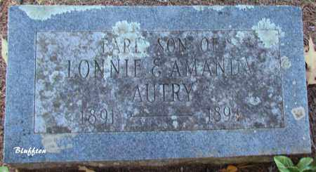 AUTRY, EARL - Van Buren County, Arkansas | EARL AUTRY - Arkansas Gravestone Photos