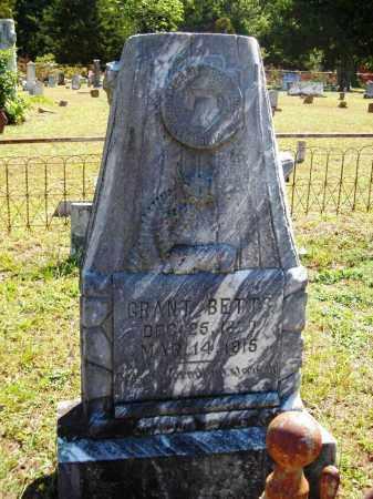 BETTS, GRANT - Van Buren County, Arkansas | GRANT BETTS - Arkansas Gravestone Photos