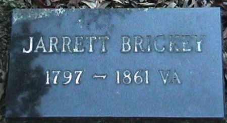 BRICKEY, JARRETT - Van Buren County, Arkansas   JARRETT BRICKEY - Arkansas Gravestone Photos