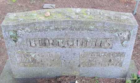 BURROUGHS, JAMES A - Van Buren County, Arkansas | JAMES A BURROUGHS - Arkansas Gravestone Photos