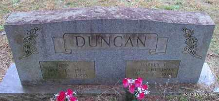 DUNCAN, NINA V - Van Buren County, Arkansas | NINA V DUNCAN - Arkansas Gravestone Photos
