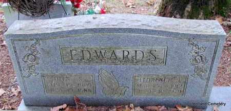 EDWARDS, OLEN S - Van Buren County, Arkansas | OLEN S EDWARDS - Arkansas Gravestone Photos