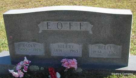 EOFF, DONA - Van Buren County, Arkansas | DONA EOFF - Arkansas Gravestone Photos