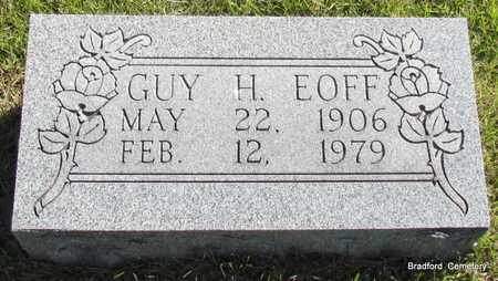 EOFF, GUY H - Van Buren County, Arkansas | GUY H EOFF - Arkansas Gravestone Photos
