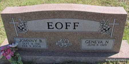EOFF, JOHNNY B - Van Buren County, Arkansas | JOHNNY B EOFF - Arkansas Gravestone Photos