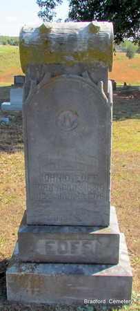 EOFF, JOHN D (OVERVIEW) - Van Buren County, Arkansas | JOHN D (OVERVIEW) EOFF - Arkansas Gravestone Photos