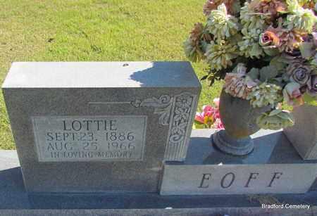EOFF, LOTTIE - Van Buren County, Arkansas | LOTTIE EOFF - Arkansas Gravestone Photos