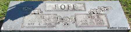 EOFF, MUREL B - Van Buren County, Arkansas   MUREL B EOFF - Arkansas Gravestone Photos