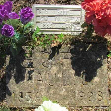 EOFF, PAUL CARLISLE - Van Buren County, Arkansas   PAUL CARLISLE EOFF - Arkansas Gravestone Photos