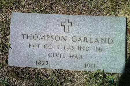 GARLAND  (VETERAN UNION), THOMPSON - Van Buren County, Arkansas | THOMPSON GARLAND  (VETERAN UNION) - Arkansas Gravestone Photos