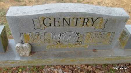 GENTRY, GEORGE ALLEN - Van Buren County, Arkansas | GEORGE ALLEN GENTRY - Arkansas Gravestone Photos
