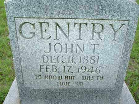 GENTRY, JOHN T - Van Buren County, Arkansas   JOHN T GENTRY - Arkansas Gravestone Photos