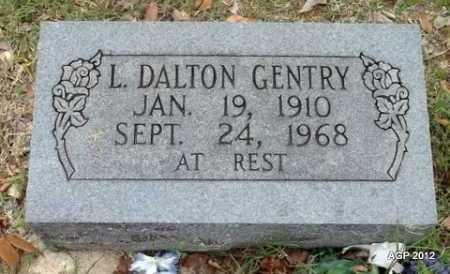 GENTRY, L DALTON - Van Buren County, Arkansas   L DALTON GENTRY - Arkansas Gravestone Photos