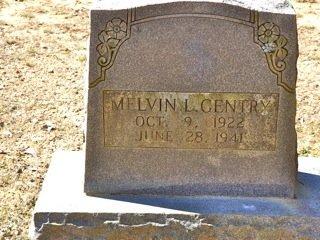GENTRY, MELVIN L - Van Buren County, Arkansas | MELVIN L GENTRY - Arkansas Gravestone Photos