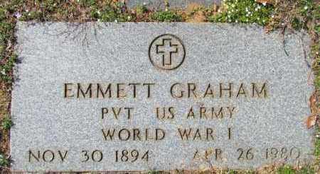 GRAHAM (VETERAN WWI), EMMETT - Van Buren County, Arkansas | EMMETT GRAHAM (VETERAN WWI) - Arkansas Gravestone Photos