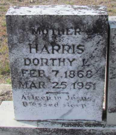 HARRIS, DORTHY L - Van Buren County, Arkansas | DORTHY L HARRIS - Arkansas Gravestone Photos