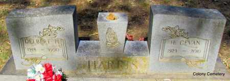 HARRIS, DELBERT H - Van Buren County, Arkansas | DELBERT H HARRIS - Arkansas Gravestone Photos