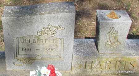 HARRIS, DELBERT H (CLOSE UP) - Van Buren County, Arkansas | DELBERT H (CLOSE UP) HARRIS - Arkansas Gravestone Photos