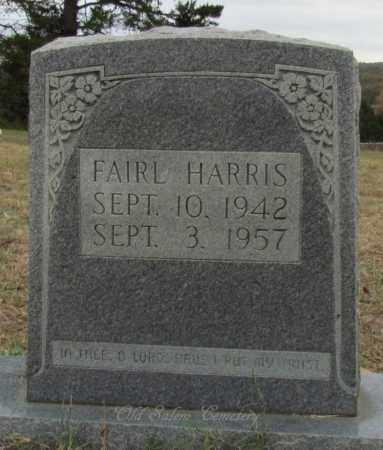 HARRIS, FAIRL - Van Buren County, Arkansas | FAIRL HARRIS - Arkansas Gravestone Photos