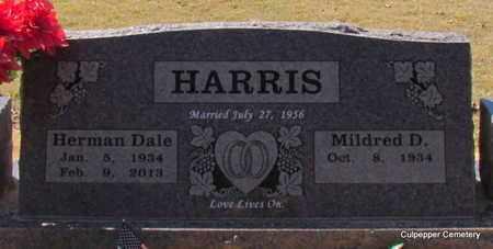 HARRIS, HERMAN DALE - Van Buren County, Arkansas | HERMAN DALE HARRIS - Arkansas Gravestone Photos