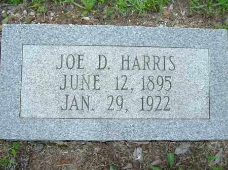 HARRIS, JOE D - Van Buren County, Arkansas | JOE D HARRIS - Arkansas Gravestone Photos
