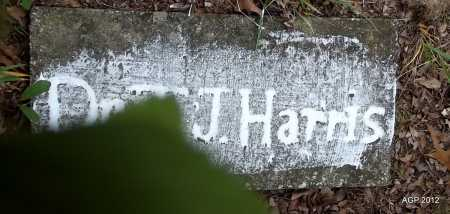 HARRIS, J - Van Buren County, Arkansas | J HARRIS - Arkansas Gravestone Photos