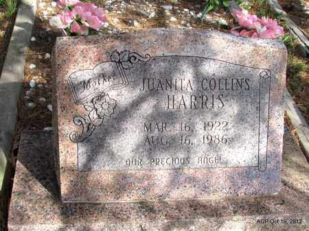 HARRIS, JUANITA - Van Buren County, Arkansas   JUANITA HARRIS - Arkansas Gravestone Photos