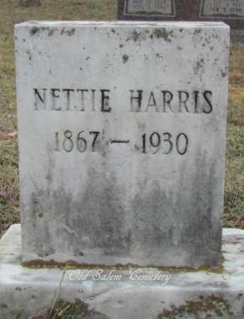 HARRIS, NETTIE - Van Buren County, Arkansas | NETTIE HARRIS - Arkansas Gravestone Photos