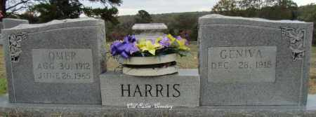 HARRIS, GENIVA - Van Buren County, Arkansas | GENIVA HARRIS - Arkansas Gravestone Photos