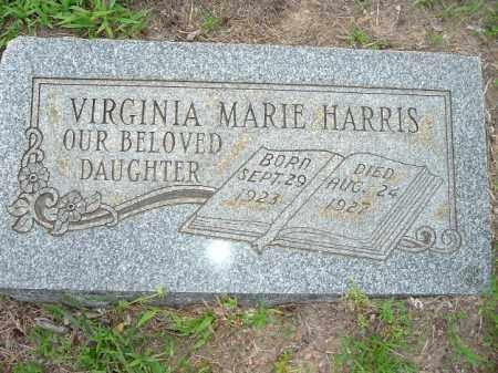 HARRIS, VIRGINIA MARIE - Van Buren County, Arkansas | VIRGINIA MARIE HARRIS - Arkansas Gravestone Photos